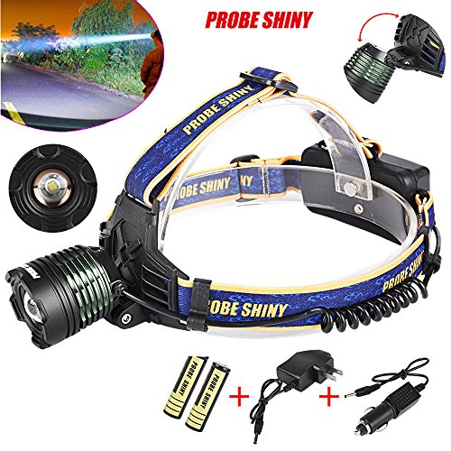 XM-L T6 LED Rechargeable Headlamp Headlight 1000LM Zoomable - 6