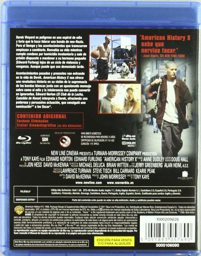 Seven + Zodiac + American History X (Blu-Ray) (Import Movie) (European Format - Zone B2) (2011) Jennifer Lien;