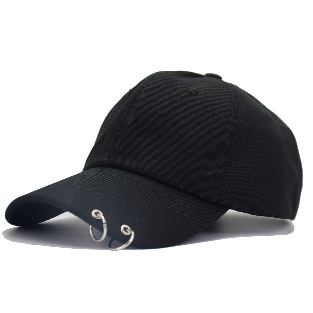 Kpop Baseball Cap With Rings