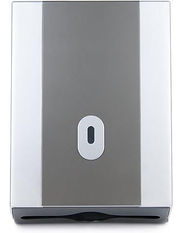 Ritioner Paper Towel Dispenser Wall Mounted,No-Drilling Paper Towel Holder,Toilet Tissue Dispenser Garbage Bags Holder Home Paper Extraction Dispenser