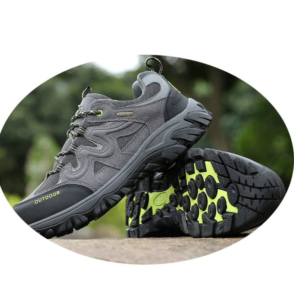 QLX Chaussures De Couple, Chaussures De Randonnée en Cuir D'Été, Chaussures De Sport De Grande Taille, Chaussures De Marche Décontractées