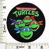 logo ninja - Teenage Mutant Ninja Turtles Cartoon Kid patch Logo Jacket T shirt Patch Sew Iron on Embroidered Symbol Badge Cloth Sign