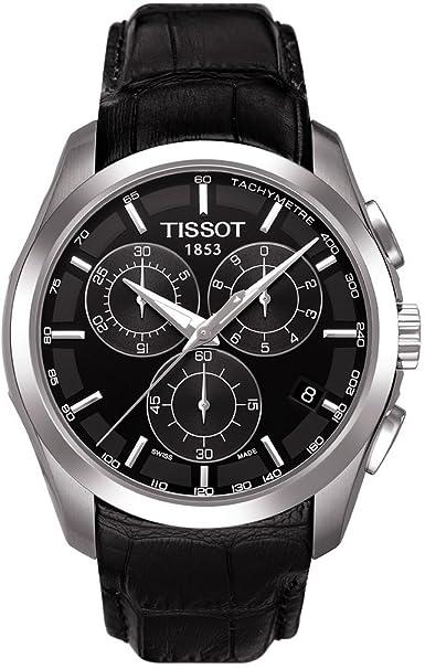 Tissot Chronograph Black Dial Men's Watch - T0356171605100 Men at amazon