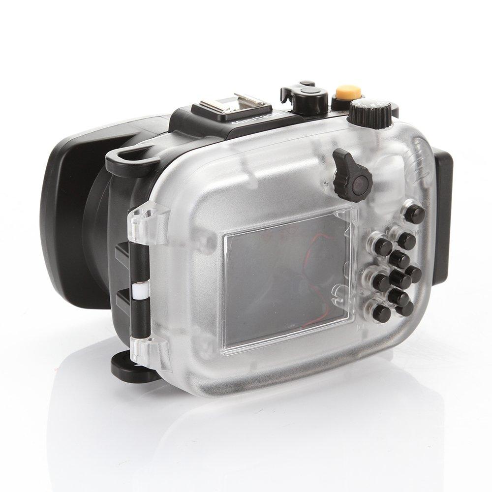 Fotga 40M 130ft Bo/îtier /étanche Waterproof Underwater Housing Case pour Cam/éra Sony HX90