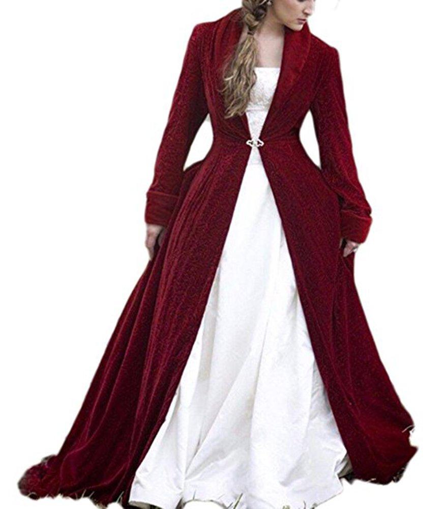Mr.ace Homme Velvet Cloak For Bridal Winter Jacket Wedding Bridesmaid Capes