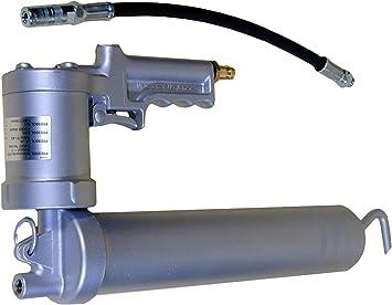ad Avance autom/ático de grasa Carga mediante cartucho de 400/gr Completa de cord/ón y cabezal Pistola grasa de aire comprimido con palanca Y Grasa unidad.