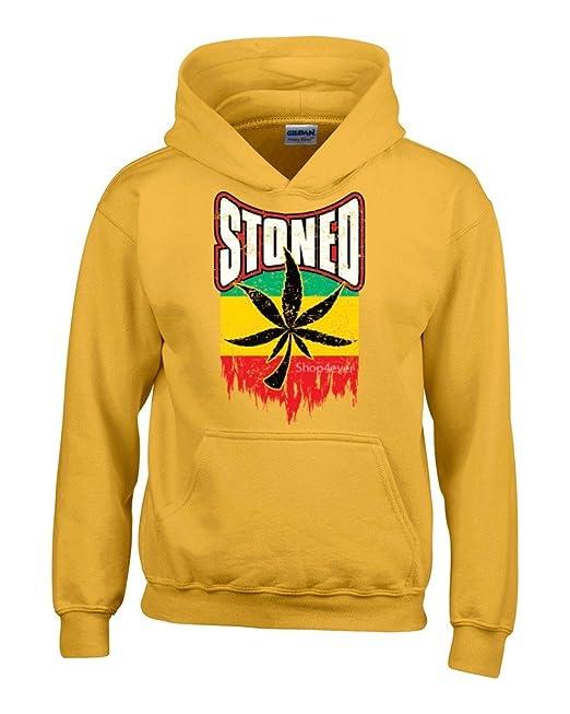 shop4ever ® marihuana Pot Leaf Sudaderas con capucha Weed Funny Apparel sudaderas: Amazon.es: Libros