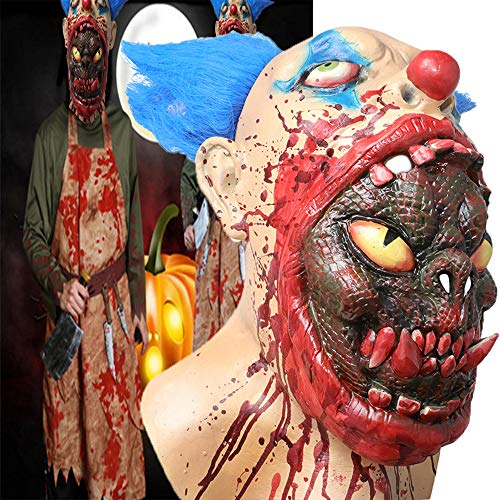 Scary Halloween Costume Party Animal Head Mask Zombie