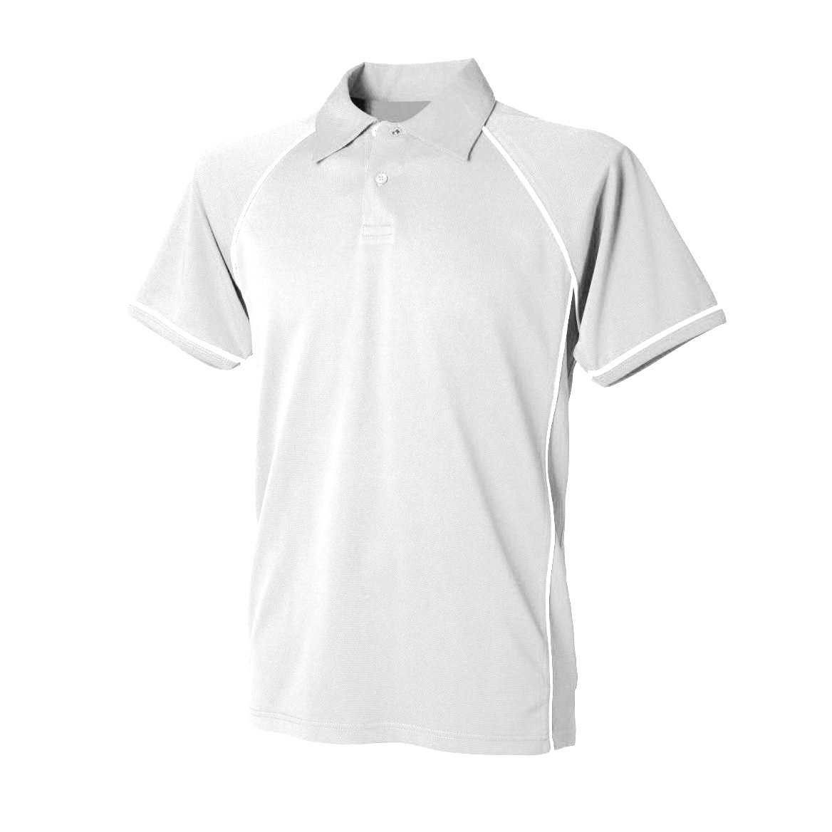 Finden & Hales Mens Piped Performance Sports Polo Shirt