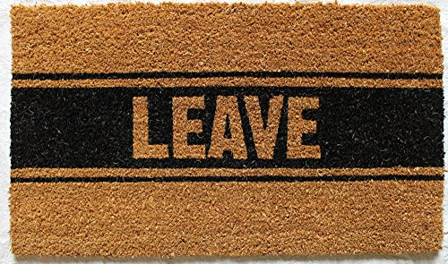 Best Value · Leave Coir Fiber Welcome Mat Product Image