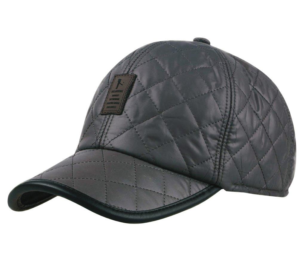 Winter Baseball Cap Hat, Estwell Unisex Thick Warm Cap with Ear Flap Adjustable Casual Sport Trucker Cap