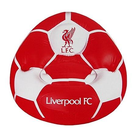 Liverpool FC - Sillón Hinchable Oficial con el Escudo del ...