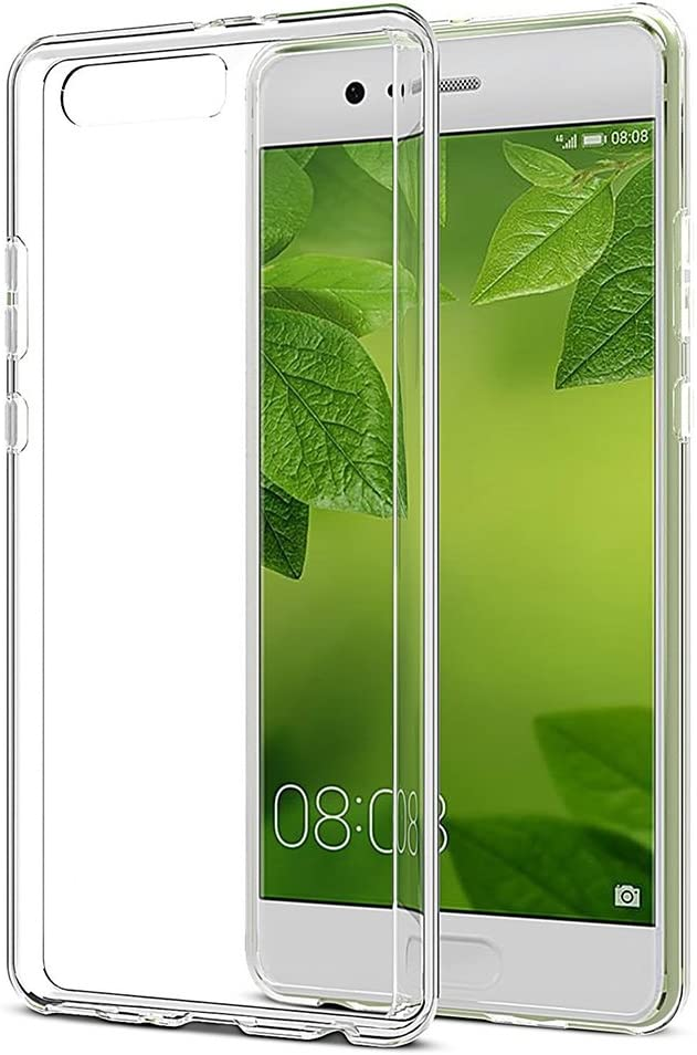REY Funda Carcasa Gel Transparente para Huawei P10 Plus, Ultra ...
