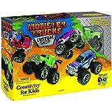 Creativity For Kids Monster Trucks Kit Custom Shop