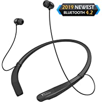 YW YUWISS Neckband V4.2 Lightweight Wireless Headset with Mic