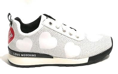 Handtaschen Weiß Sneaker Moschino BiancoSchuheamp; Damen YgvIfb76y