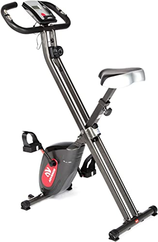 ADVENOR Exercise Bike Magnetic Bike Folding Fitness Bike Cycle Workout Home Gym