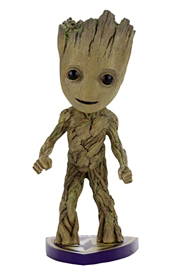 amazon com neca guardians of the galaxy 2 head knocker groot toys