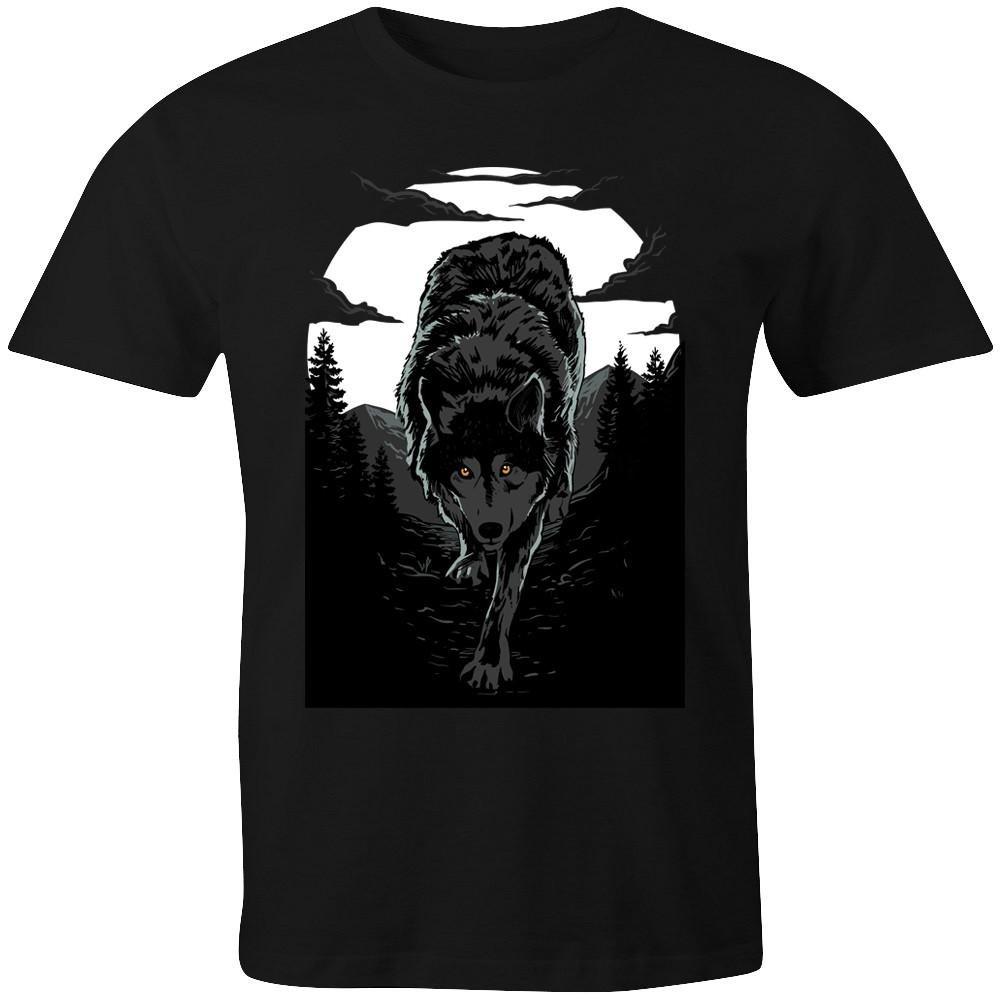 Merch Kingdom Winter Wolf Vest - Black - XX-Large