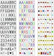 NXENTC 270 Letters, Numbers, Symbols and Emojis for A4 Size Cinematic LED Message Box