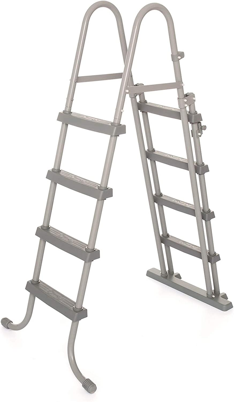 Bestway 58331 - Escalera para Piscina Desmontable 122 cm