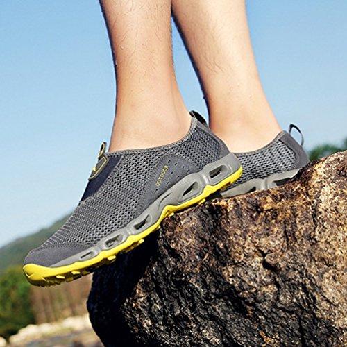 Randonnée Toile Chaussure Chaussure de Outdoor d'eau Homme Femme TlKF1cJ3