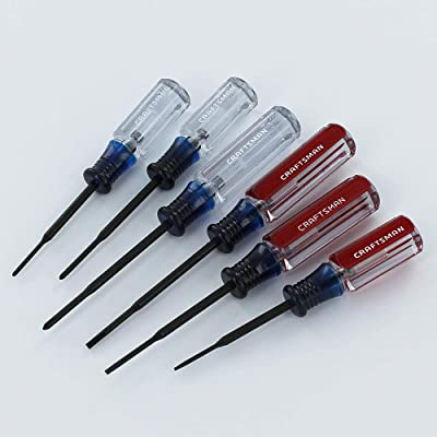 Craftsman 6 Pc Jewelers Screwdriver Set 9-41106: Home Improvement