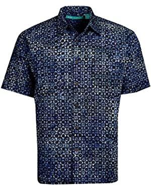 Newport Batik Cotton Hawaiian Shirt