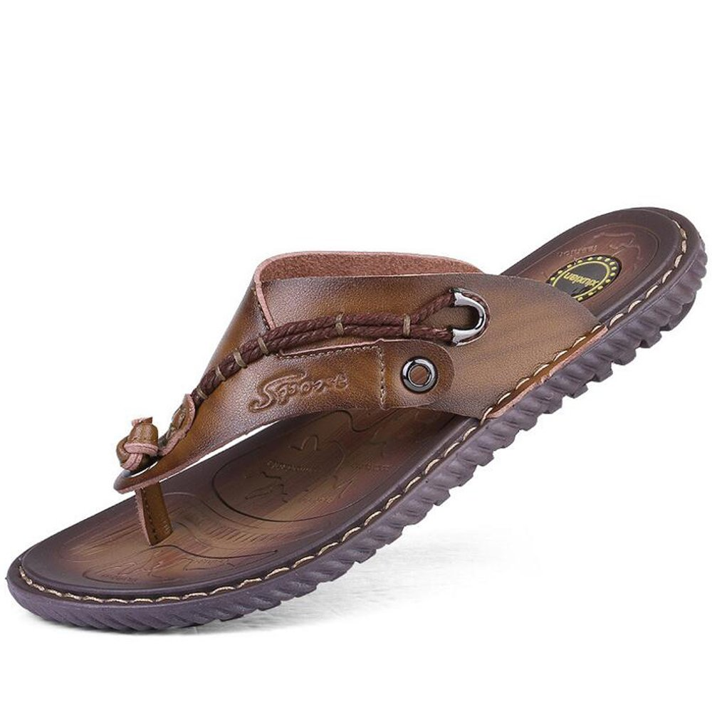 GAOLIXIA Neue Sommer Herren Hausschuhe - Microfiber Beach Sandaleen - Flip Flops 2 Arten von optionalen Größe 6-11