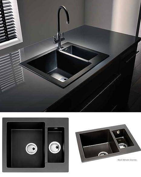 Abode zero 15 bowl black granite sink without drainer aw3005 abode zero 15 bowl black granite sink without drainer aw3005 workwithnaturefo
