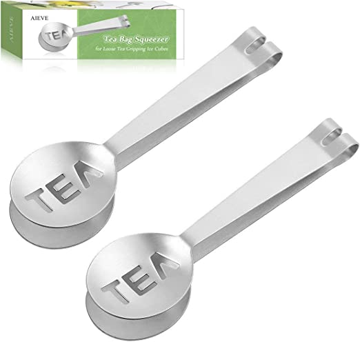 Tea Bag Clip Tea Clamp Small Food Tong Accessories Stainless Steel Easy to Use