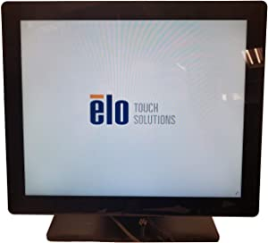 Elo E179069 Desktop Touchmonitors 1717L iTouch Zero-Bezel 17'' LED-Backlit LCD Monitor, Black
