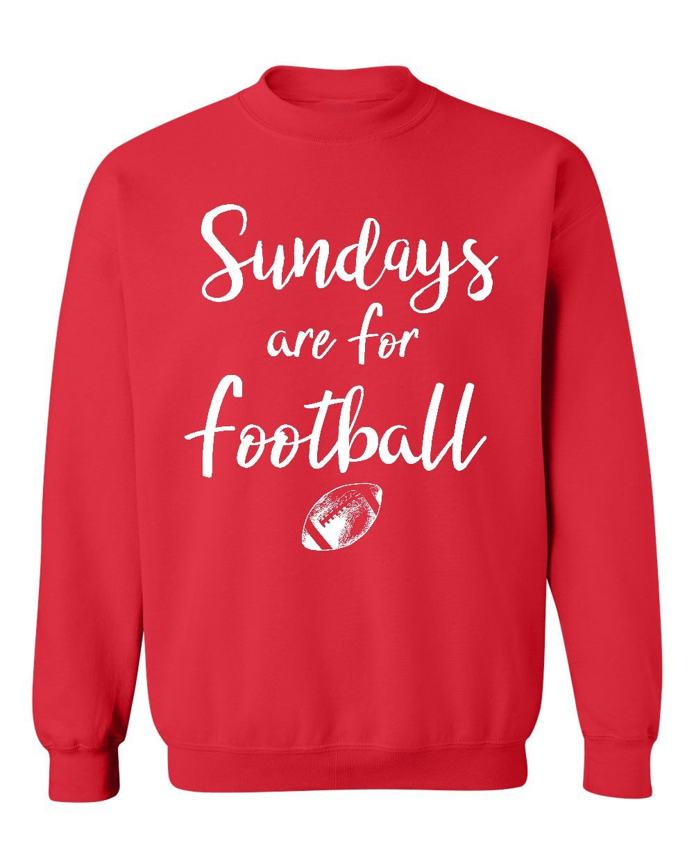 Promotion & Beyond Sundays Are For Football Funny Sports Crewneck Sweatshirt