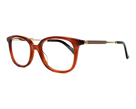 ac45d0135b Gucci Women s Prescription Eyewear Frame Brown marmor stil braun - gold 15