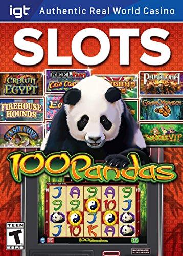 IGT Slots 100 Pandas PC [Download] (Pc Casino Game Downloads)