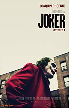 Joker Movie Poster Of 11 x 17 Inches Size