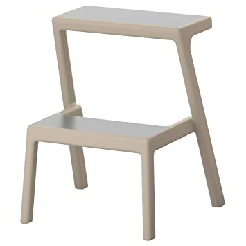 Amazon.com: IKEA Mästerby Step Stool, Beige: Kitchen & Dining