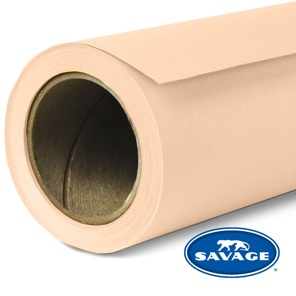 Savage Seamless Background Paper - #19 Egg Nog (107 in x 36 ft) by Savage