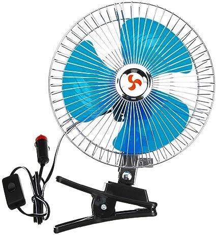 Ventilador de coche eléctrico portátil de 12 V, ventilador de ...