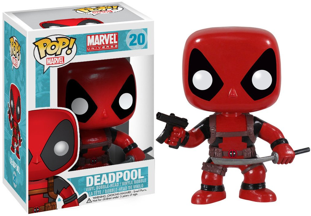 ~3.8 Funko POP Marvel Deadpool 1 FREE Trading Card Bundle BCC9N1415 x Universe Vinyl Bobble-Head Figure