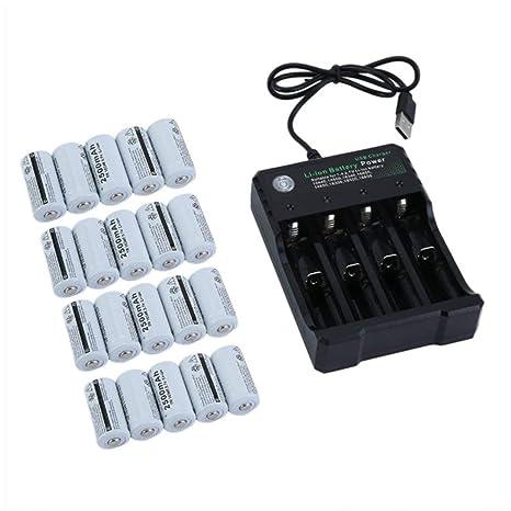 Swiftswan - Juego de Pilas Recargables para cámara de Seguridad Netgear Arlo (20 Unidades)