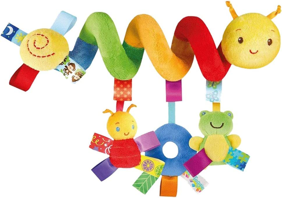 Hotsellhome New Baby Kids Spiral Activity Hanging Toys