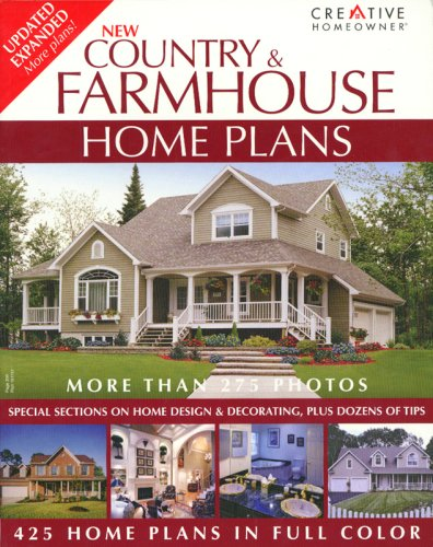 Download pdf new country farmhouse home plans home for House plan books free pdf