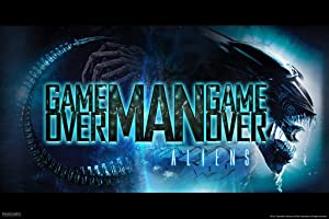 Pyramid America Aliens Movie Game Over Man Xenomorph Art Scary Horror Science Fiction Classic Retro Cool Wall Decor Art Print Poster 12x18