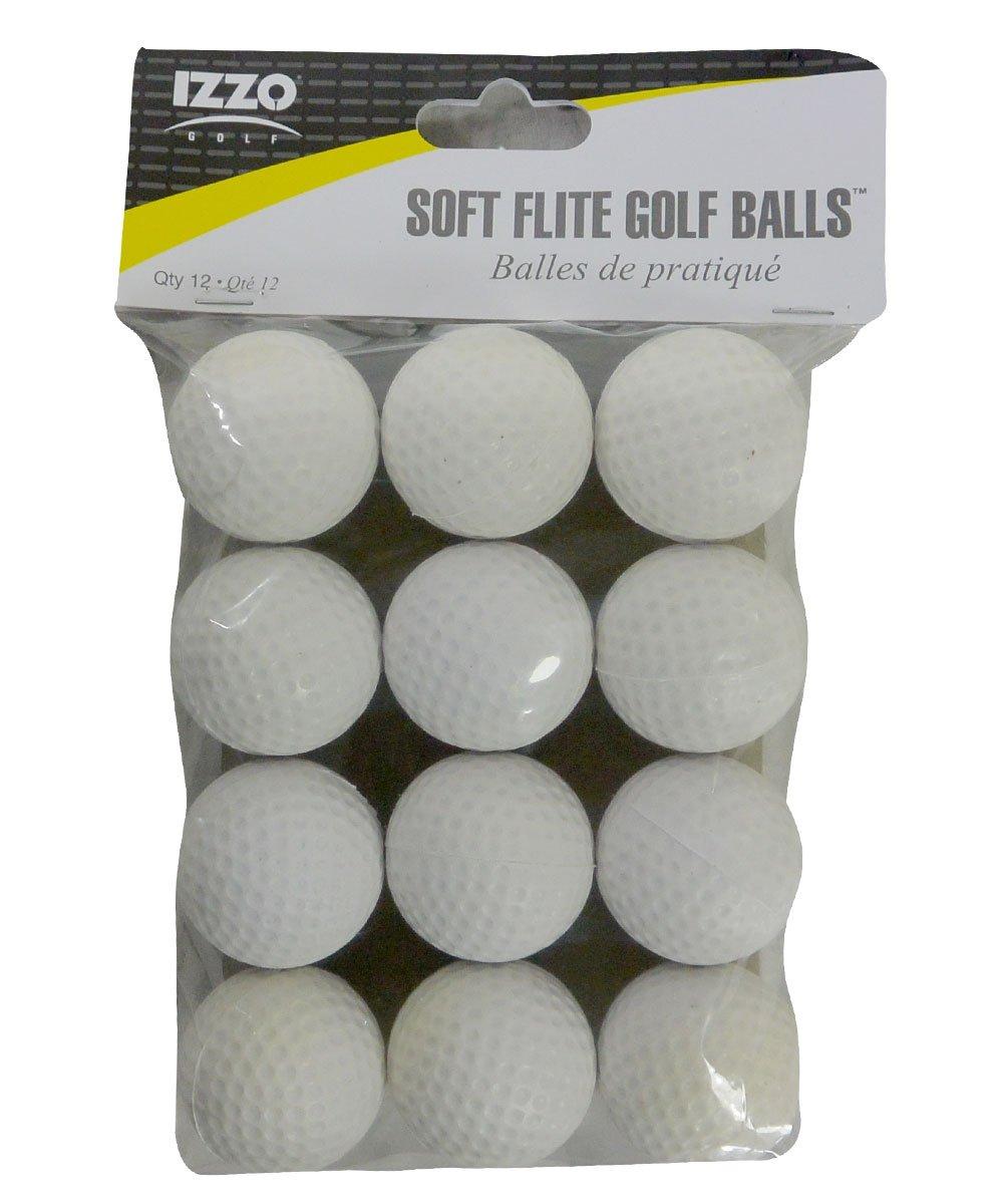 Izzo Golf Foam Practice Balls 12-Pack by Izzo
