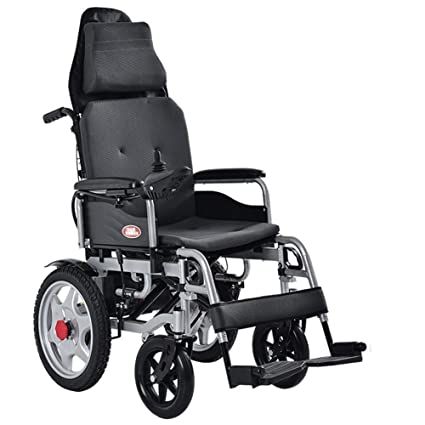 Amazon.com: ACEDA Silla de ruedas eléctrica, plegable ...