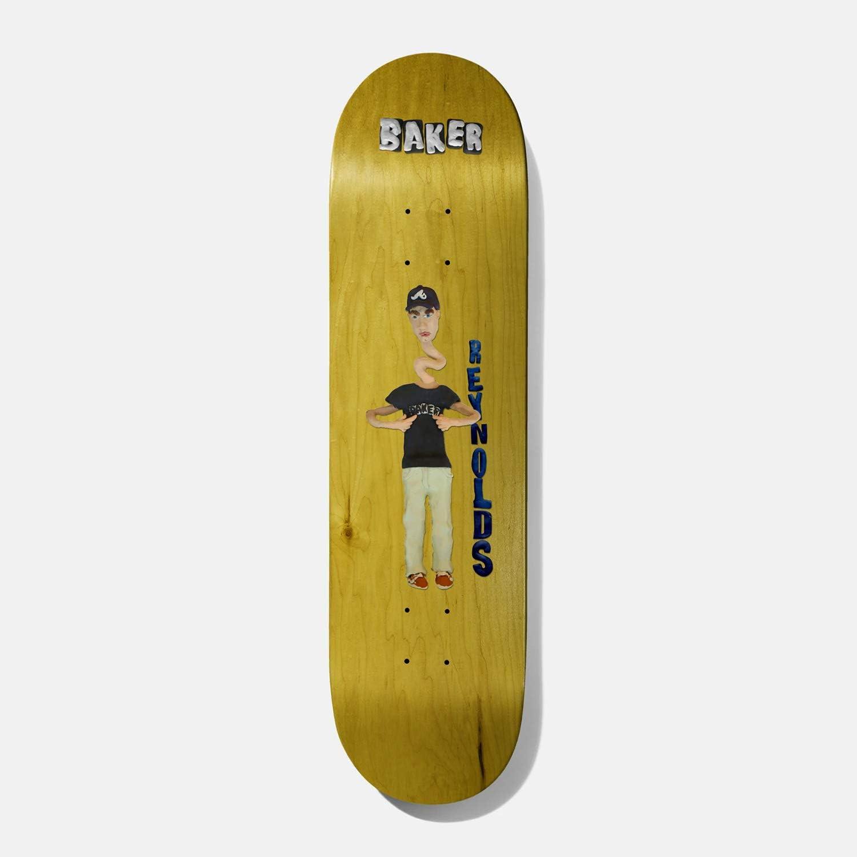 "Baker Skateboard Deck Andrew Reynolds Kazi 8.5"" x 32"""