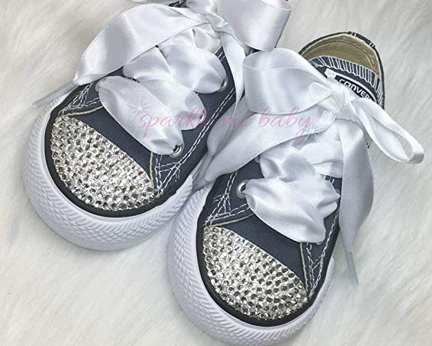 1ece832f867c Amazon.com  Bling Baby Toddler Shoes in Navy ~ Authentic ~ Customized for  you by Sparkle Me Baby 2u  Handmade