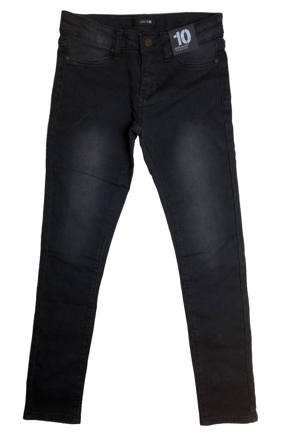 Joe's Jeans Girls Tween Ken Jegging Ultra Slim Fit (Black-Ken, 12)