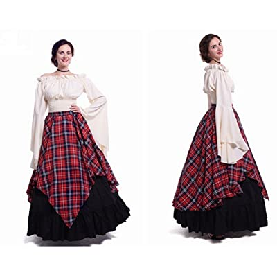 Disfraces para mujer vestidos largos